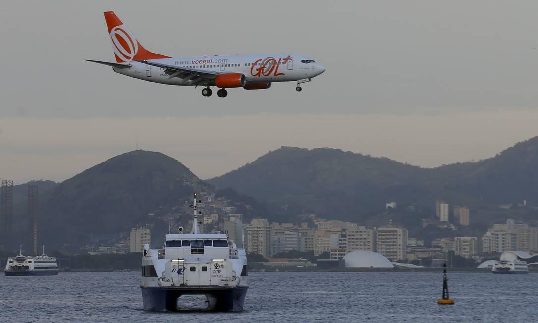 Companhia Aérea GOL. Foto: Marcelo Theobald / Agência O Globo
