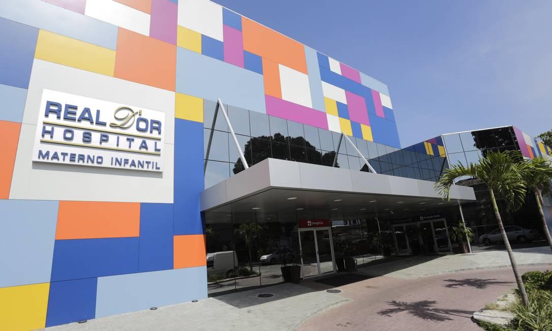 Maternidade e hospital infantil da Rede D'Or em Bangu. Foto: Gustavo Azeredo / Agência O Globo