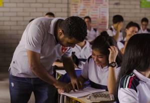Na Colômbia, venezuelanos estão sendo inseridos em escolas que atendam suas demandas culturais Foto: Unesco