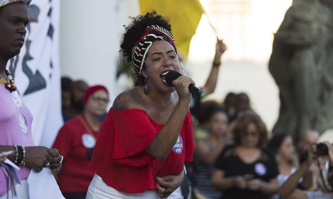 Talíria Petrone é vereadora pelo PSOL e deputada federal eleita pelo Rio Foto: / Leo Martins