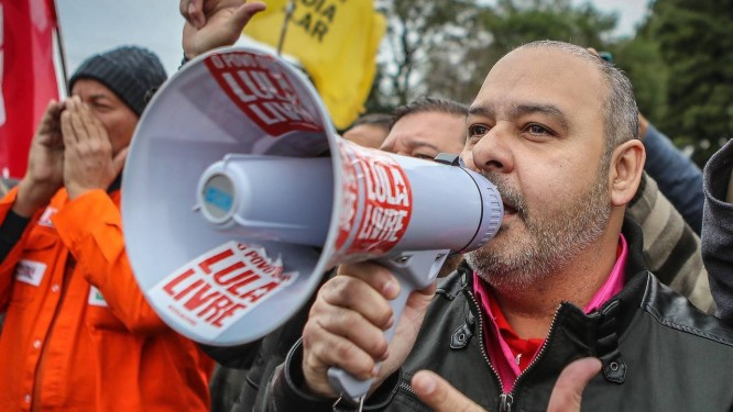 O presidente da CUT, Vagner de Freitas, em tempos minguantes. Acúmulo de derrotas eleitorais, políticas, judiciais e sindicais Foto: Ricardo Stuckert