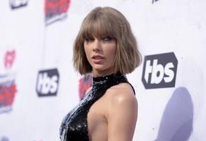 A cantora americanaTaylor Swift Foto: Richard Shotwell / AP