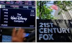 Disney ganha aprovação chinesa para acordo de compra da Fox, eliminando o maior obstáculo na negociação Foto: Andrew Kelly - Eduardo Munoz / Reuters