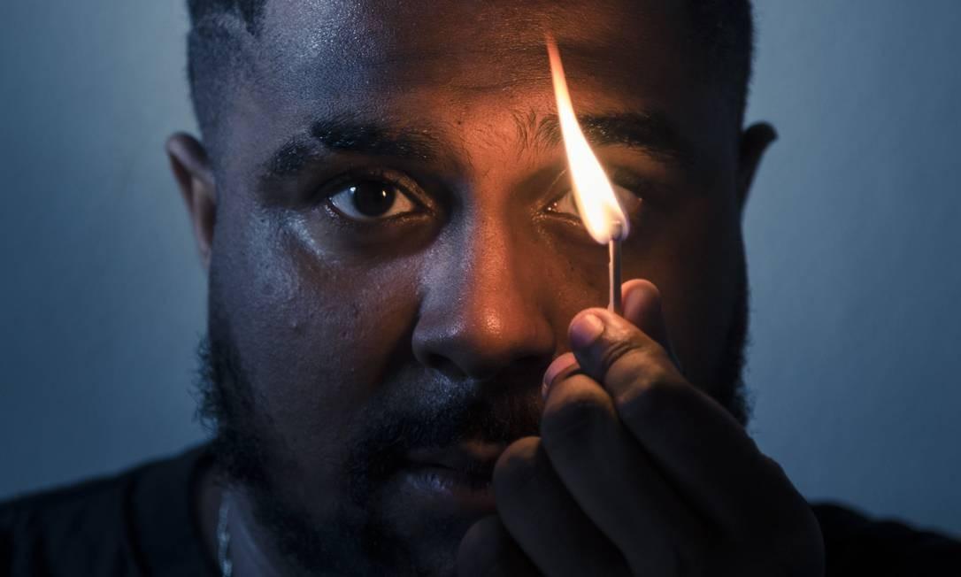 O rapper Baco Exu do Blues Foto: Leo Martins / O Globo