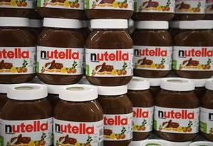Barilla, das massas, quer lançar um creme de chocolate para concorrer com a Nutella Foto: Damien Meyer / Agência O Globo