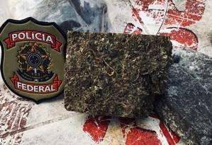 PF apreendeu drogas ao cumprir mandados de prisão na Operação Pregadura Foto: Divulgação/PF