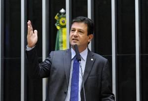O deputado federal Luiz Henrique Mandetta(DEM-MS) foi anunciado ministro da Saúde de Bolsonaro Foto: Luis Macedo/Câmara dos Deputados