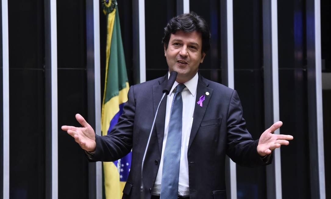 O deputado federal Luiz Henrique Mandetta Foto: Divulgação