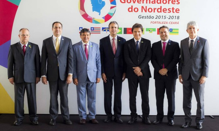 Governadores do Nordeste Foto: Divulgação