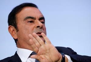 Com a prisão de Carlos Ghosn, futuro da aliança entre Renault, Nissan e Mitsubishi fica incerto Foto: REGIS DUVIGNAU / REUTERS