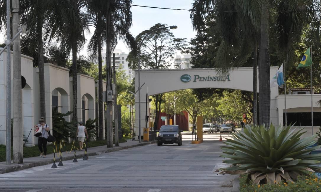 Condomínio Península, na Barra da Tijuca Foto: Fernanda Dias / O Globo