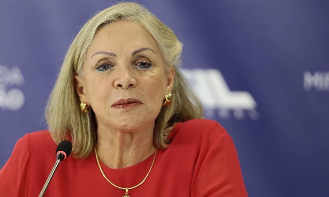 Maria Inês Fini, presidente do Inep, disse que prova continuará com caráter nacional Foto: Jorge William / Agência O Globo