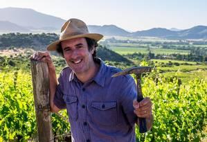 Para o enólogo chileno Cristóbal Undurraga, da Koyle, é pioneiro na produção de vinhos biodinâmicos na América Latina Foto: Divulgação