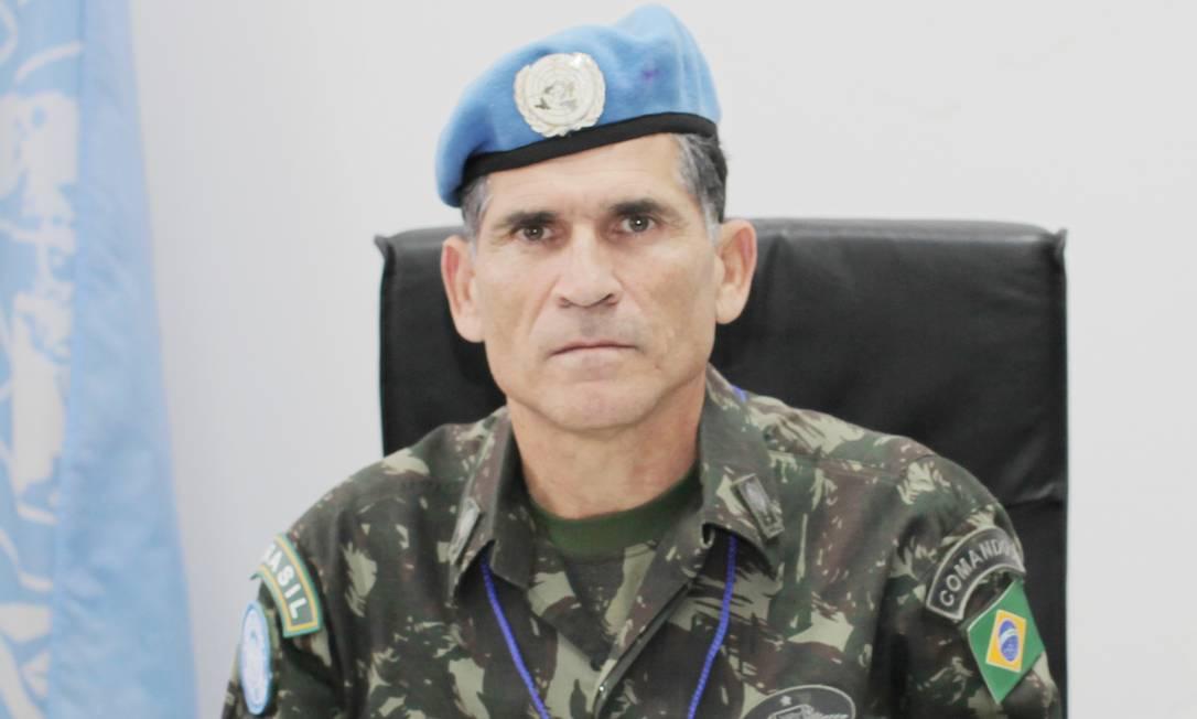 O general Carlos Alberto Santos Cruz comandou missões da ONU no Haiti e no Congo Foto: Infoglobo