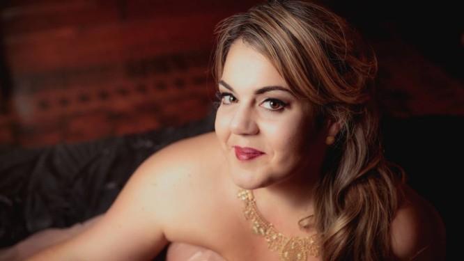 A soprano brasileira Gabriella di Laccio Foto: Divulgação