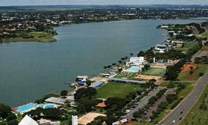 Orla do Lago Sul, bairro nobre de Brasília Foto: Reprodução