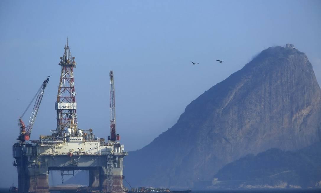 Plataforma da Petrobras Foto: / Bloomberg