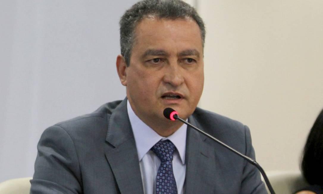 Governador reeleito na Bahia, Rui Costa (PT) disse que a Saúde não é uma pasta que admita preferências partidárias Foto: Carol Garcia / GOV/BA