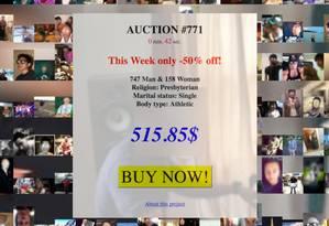 Com apenas US$ 136, ativistas compraram um milhão de perfis com fotos e informações pessoais Foto: Reprodução/Tactical Tech