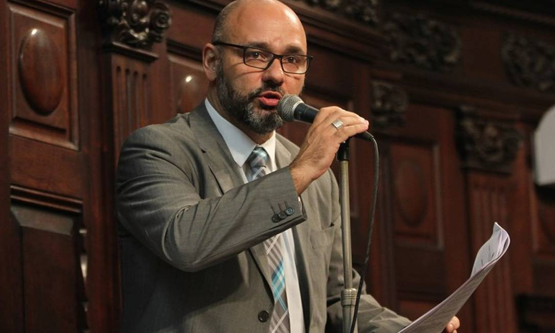 Deputado Márcio Pacheco (PSC) Foto: Divulgação Alerj