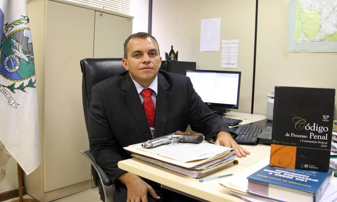 O Delegado Marcus Vinicius Braga será o novo Secretário de Polícia Civil Foto: Fabiano Rocha / Agência O Globo
