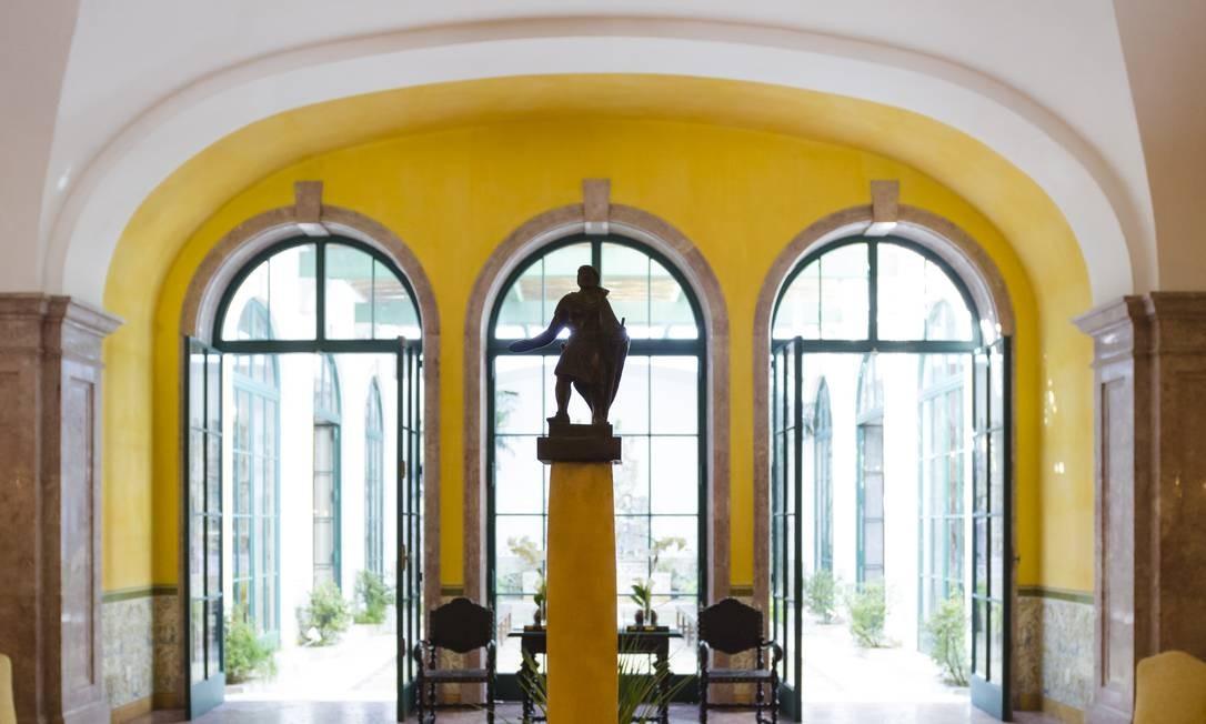 Palácio São Clemente, em Botafogo Foto: Leo Martins / Agência O Globo