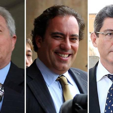 Rubem Novaes, Pedro Guimarães e Joaquim Levy vão integrar novo governo Foto: Montagem