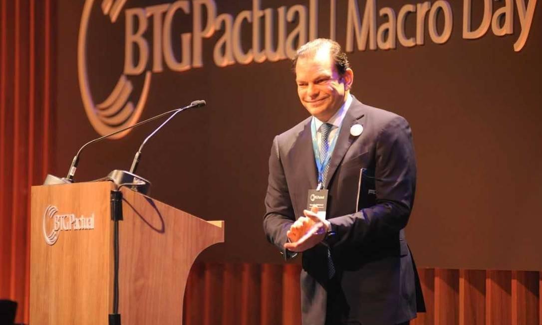O presidente do BTG, Roberto Sallouti, acredita em reomada de IPOs em 2019 Foto: Raul Junior / Divulgação