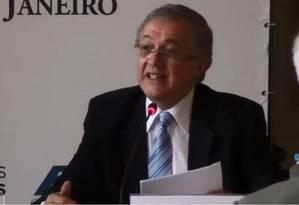 Bolsonaro anuncia Ricardo Velez Rodriguez como ministro de Educação Foto: Divulgação