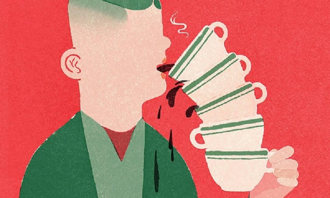 Tomar seis ou mais xícaras de café pode ter impacto na saúde Foto: Gracia Lam/NYT