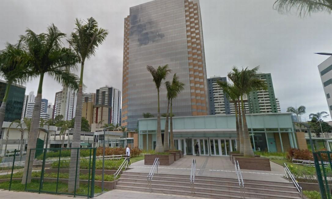 Construção da Torre Pituba, sede da Petrobras em Salvador, é alvo de investigação Foto: Reprodução/Google Street View