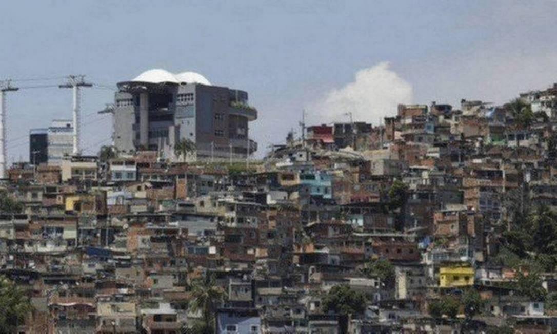Complexo do Alemão Foto: Agência O Globo