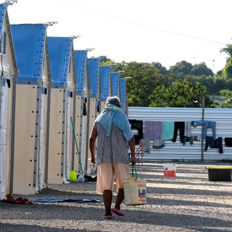 Campo de refugiados venezuelanos em Boa Vista (RR) Foto: Ruy Baron / Valor