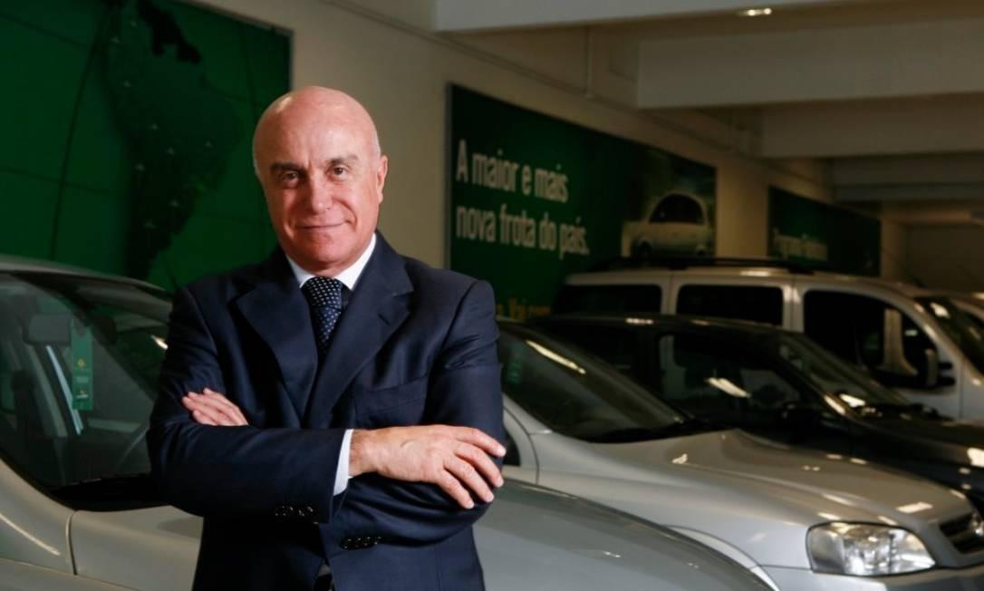 O empresário Salim Mattar, dono da Localiza Foto: Washington Alves / Agência O Globo