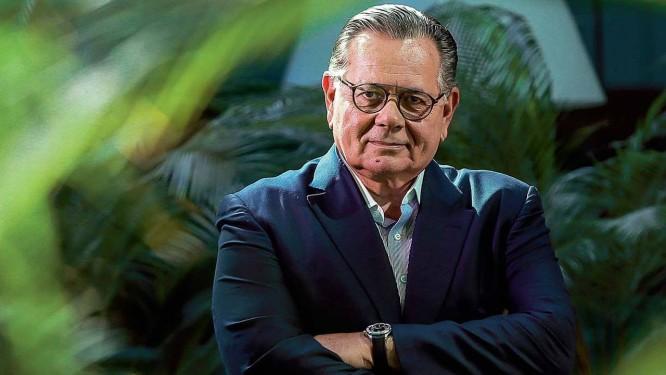 O publicitário Fernando Barros, que nestas eleições comandou duas candidaturas estaduais vitoriosas — no Paraná e em Pernambuco — e foi derrotado na campanha de Cesar Maia (DEM) ao Senado Foto: Marcelo Regua / Agência O Globo