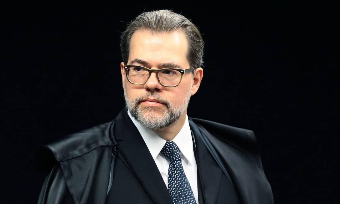 O presidente do Supremo Tribunal Federal, Dias Toffoli Foto: Jorge William / Agência O Globo/7-2-17