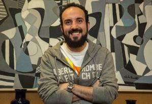 Marcelo Roque se inscreveu num programa do Santander e ganhou aporte para alavancar seu negócio, o Preço Certo Foto: Brenno Carvalho / Agência O Globo