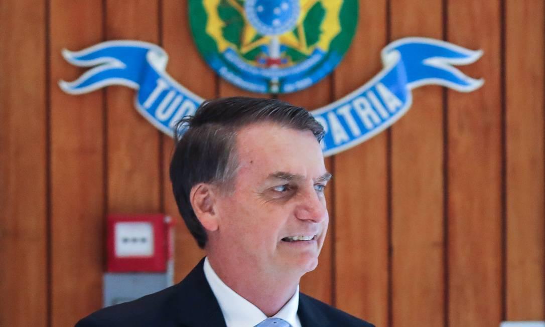 O presidente eleito, Jair Bolsonaro Foto: SERGIO LIMA / AFP