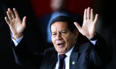 O vice-presidente eleito, general Hamilton Mourão 13/11/2018 Foto: Jorge William / Agência O Globo