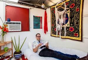 O professor Jeff Wilson Foto: Sarah Natsumi Moore / Divulgação