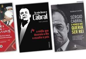 Sérgio Cabral é tema central de uma onda de publicações sobre sua trajetória Foto: Imagem / Reprodução