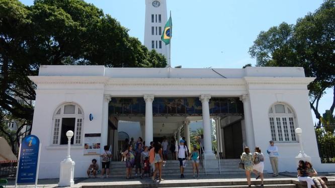 Mercado gastronômico que terá no prédio Touring Club, na Praça Mauá, terá 20 restaurantes fixos Foto: Divulgação