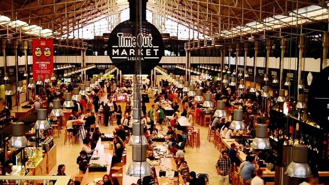 Mercado da Ribeira, em Lisboa. Foto Reprodução/Internet Foto: Agência O Globo