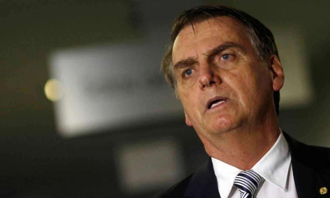 O presidente eleito Jair Bolsonaro (PSL) Foto: Adriano Machado / Reuters