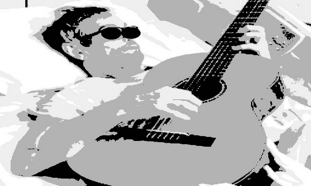 O violão se tornou, para um paciente com tumor grave e pouco frequente, símbolo de esperança Foto: Arte