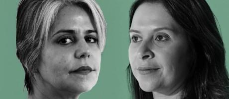 Anna Borba Taboas e Claudia Amaral Mattioli Foto: Agência O Globo