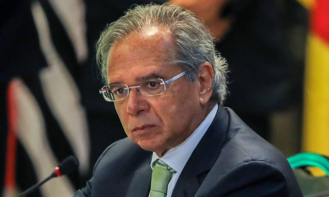 Paulo Guedes, futuro ministro da Economia no governo do presidente eleito Jair Bolsonaro Foto: / Sergio Lima/AFP/14-11-2018