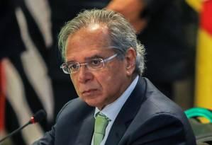Paulo Guedes, futuro ministro da Economia no governo do presidente eleito Jair Bolsonaro Foto: Sergio Lima/AFP/14-11-2018
