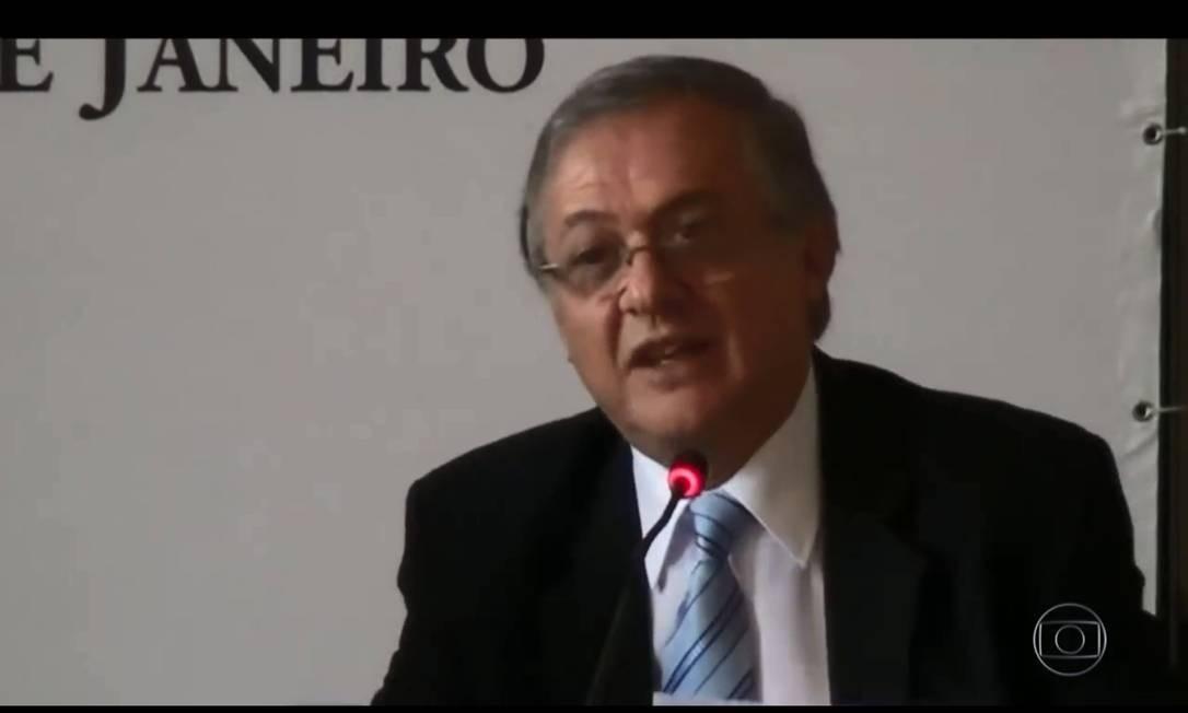 SOC Rio de Janeiro (RJ) 23/11/2018 Bolsonaro anuncia Ricardo Vélez Rodríguez como ministro da Educação. Foto reprodução de vídeo Foto: Picasa / Agência O Globo