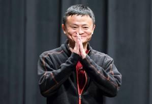 Jack Ma é o homem mais rico da China, com um patrimônio líquido de US$ 38,4 bilhões Foto: Bloomberg